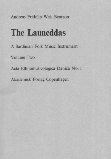 The launeddas